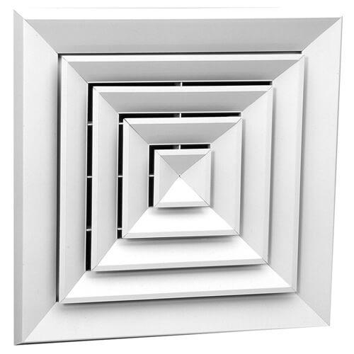 Квадратный диффузор